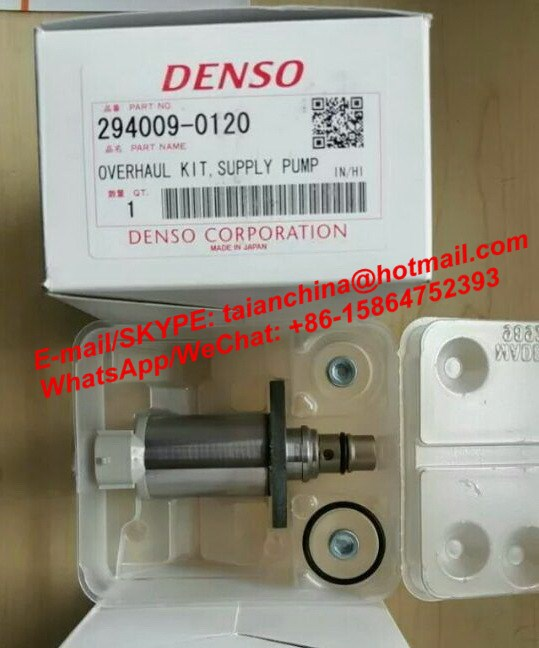 FUEL DIESEL PUMP SUCTION CONTROL VALVE SCV D40 294009-0120 A6860-AW42B A6860-AW420 294200-0660 COMMON RAIL SOLENOID VALVE