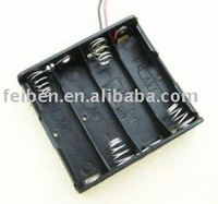 Aaa Battery Holder With Cover And On/off Switch(plastic Battery ...