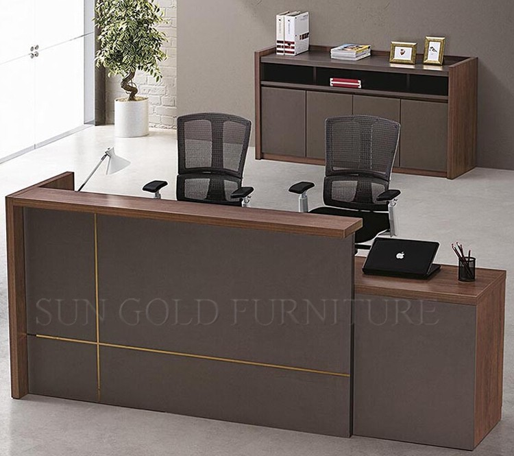 Modern Office Counter Tablefront Desk Counterreception Desk