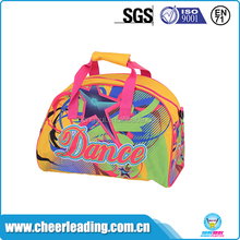 Custom made portable small sports dance duffle bag