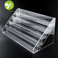 Hot! Factory Outlet All Kinds of Clear Custom nail polish acrylic display rack