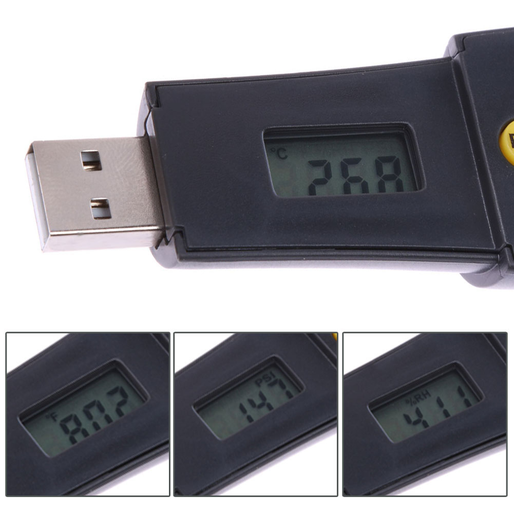 Greenhouse temperature and humidity sensor temperature date logger humidity monitor