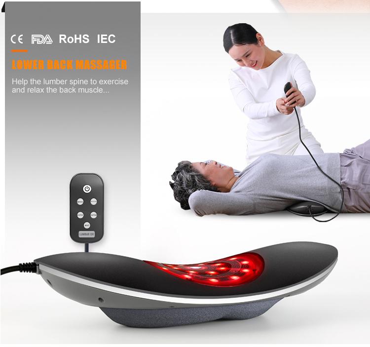 요추 견인 장치 대 한 요추 Massager, 물리 장비