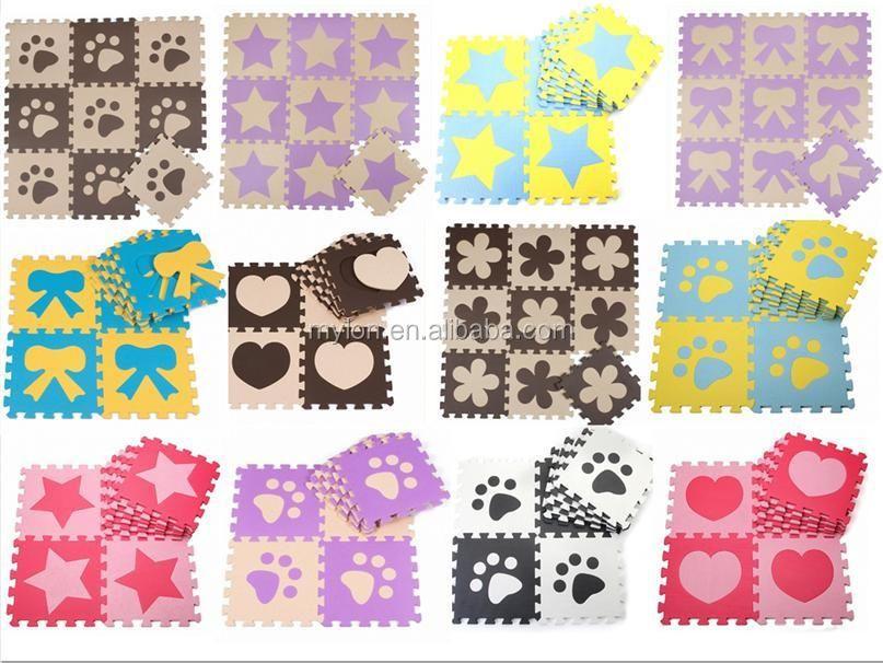 10 Sqft Foam Mat Puzzle Floor Eva Gym Soft Baby Kids Play Room Buy