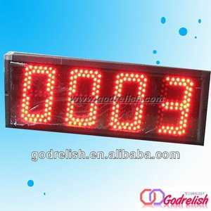 Multifunctional led bar counter motion counter
