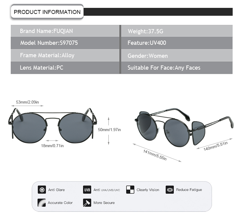 Wholesale what are polarised glasses company for lady-7