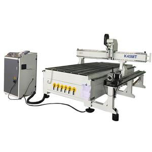 Professional heavy duty best price 1325 3d carving machine cnc router with rotar