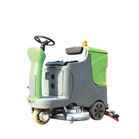 V7 Electric Battery Ride-on Cleaning Machine Floor Scrubber Dryer For Sale