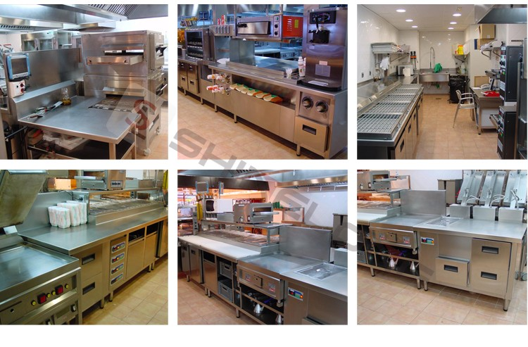 Quality Assured Commercial Fast Food Equipment Kitchen