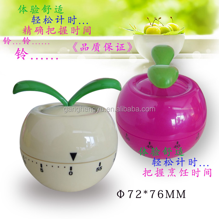 Vegetable Shape Waterproof Mechanical Kitchen Timer