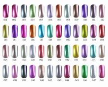 12pcs Florales Metallic UV gel nail polish 15ml 48 colors for choice Feifan