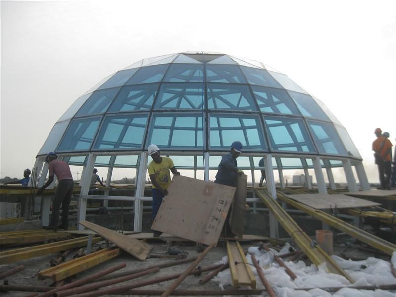 Conference Hall Design Geodesic Dome Space Frame For