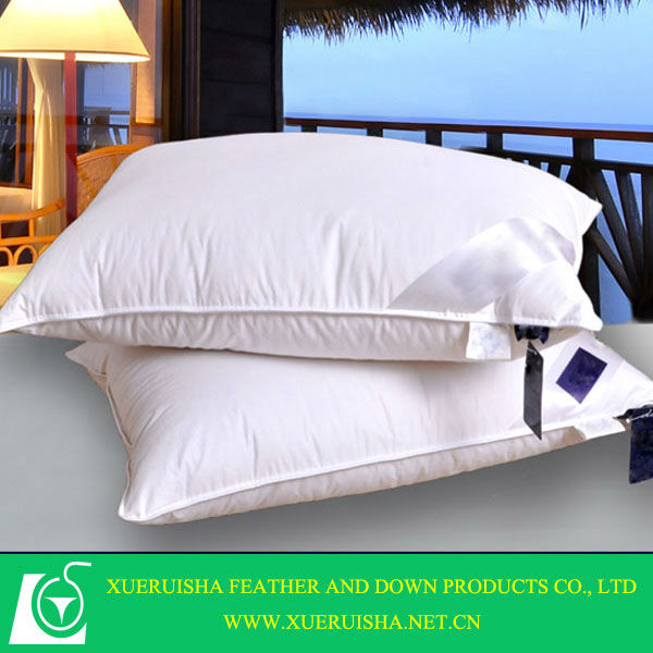 High quality 90% White duck down pillow
