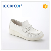 Fashion trend new pattern Most elegant led leather safety shoe for sale