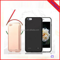 2016 Unique External Battery Charger Case for iphone 6/6s Support Dual SIM Card Adapter by Bluetooth