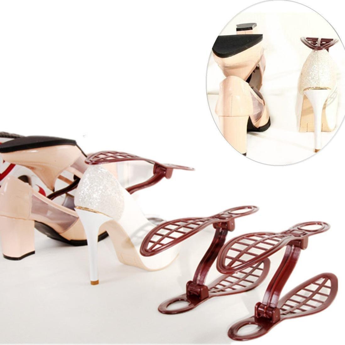 Amiley Hot sale 1 pc Plastic Shoe Organizer Space Saving Storage Shoes Rack Durable Shoe Tower Shelf Set (Random)