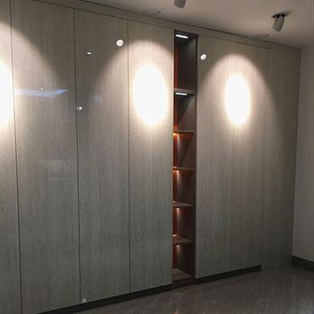 Design Moderne Chambre Meubles Armoire Garde Robe Italienne Avec Coiffeuse