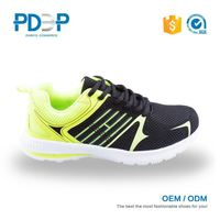 Best price good quality breathable brand black basketball shoes