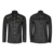 Y-740 Heavy Metal Punk Cheap PU Coating Long Sleeve Compression Shirt