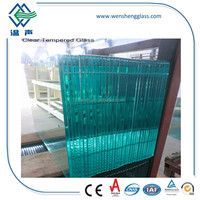 office room divider tempered glass panels