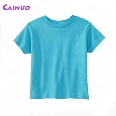 Custom 100% combed cotton blank tshirts