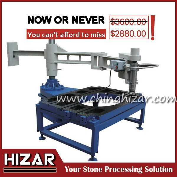 H HP 580 Inside U0026 Outside Granite Countertop Cutting Machine,granite Sink  Hole