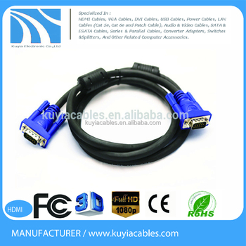 15pin VGA to coaxial cable wiring diagram vga cable male to cable, on