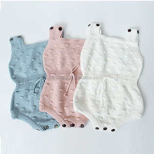 SEVWEN Wholesale autumn baby clothes 1-2years knitted wool cute design infant clothing