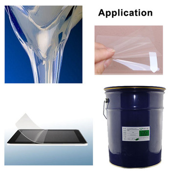 how to clean clear thermoplastic material