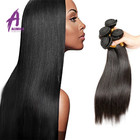 Alibaba top sale beauty product natural color unprocessed Burmese hair weaving for black women 8a straight human