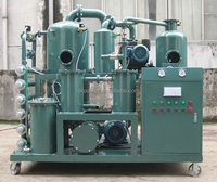 Zhongneng High Double-stage transformer oil dehydration plant/used switch oil purification