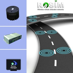 Best Traffic Counter with Zigbee Motion Sensor Wireless Vehicle Detector