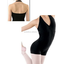 Beautiful Girls Supplex Halter Leotard