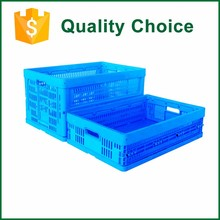 Recyclable Stackable Mesh Plastic Transport Fruit Crate