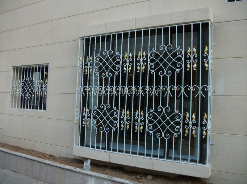 Modern zen window grills design modern window grill for Window design catalogue