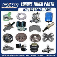 More than 1000 different parts for Daf