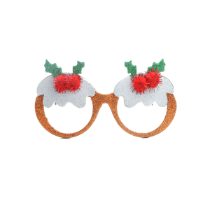 china Christmas festival advertising party plastic sunglasses own brand