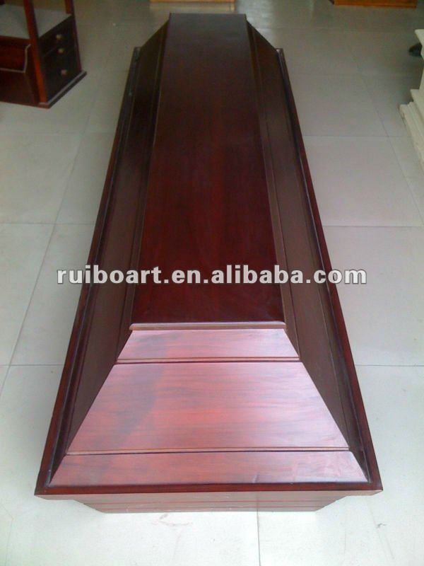 Europe design wood coffin