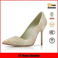13 years factory made high heel women dress shoes