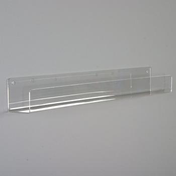 Wall Mounted Acrylic Display Shelf