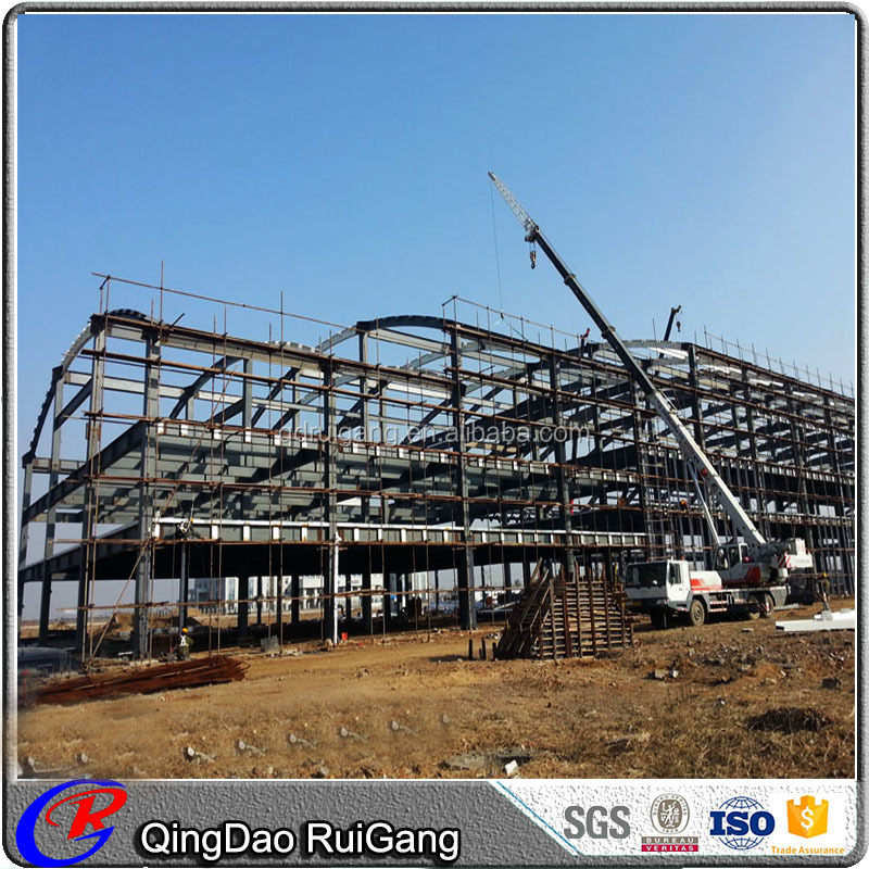 Pre engineered light structural steel industrial building