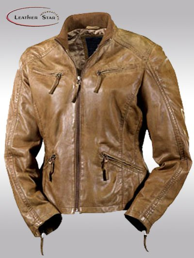 Vintage Leather Jackets Mens - Jacket