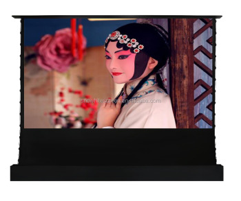 "SNOWHITE 84"" -200"" 16:9 Electric Flexible Tension Floor projection screen"