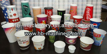 Hot Selling Disposable Paper Cup Machine Demo