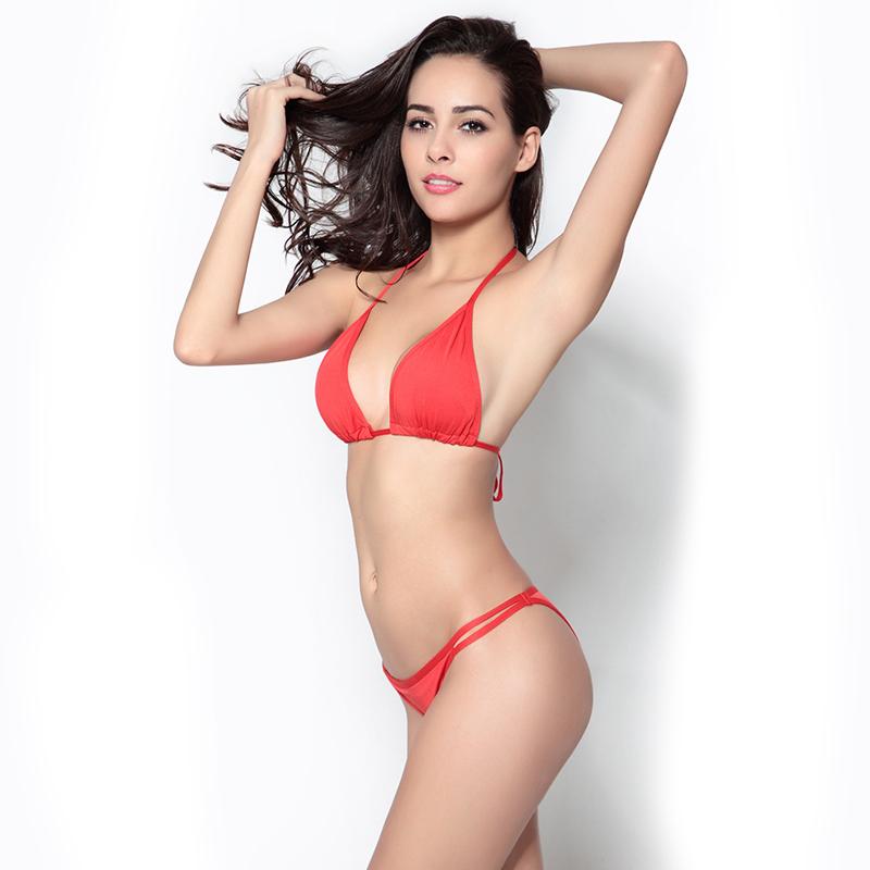 3198ec8be7 Get Quotations · The New Sexy Triangle Bikini Swimwear Brazilian Bikinis  Secret Reversible Monokini Beachwear Beach Summer Style Women