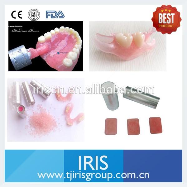 Denture Base Valplast Flexible Denture Resin Granules For Making ...