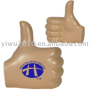 promotional products,promotional Anti Stress Toys,Thumbs Up Stress Ball