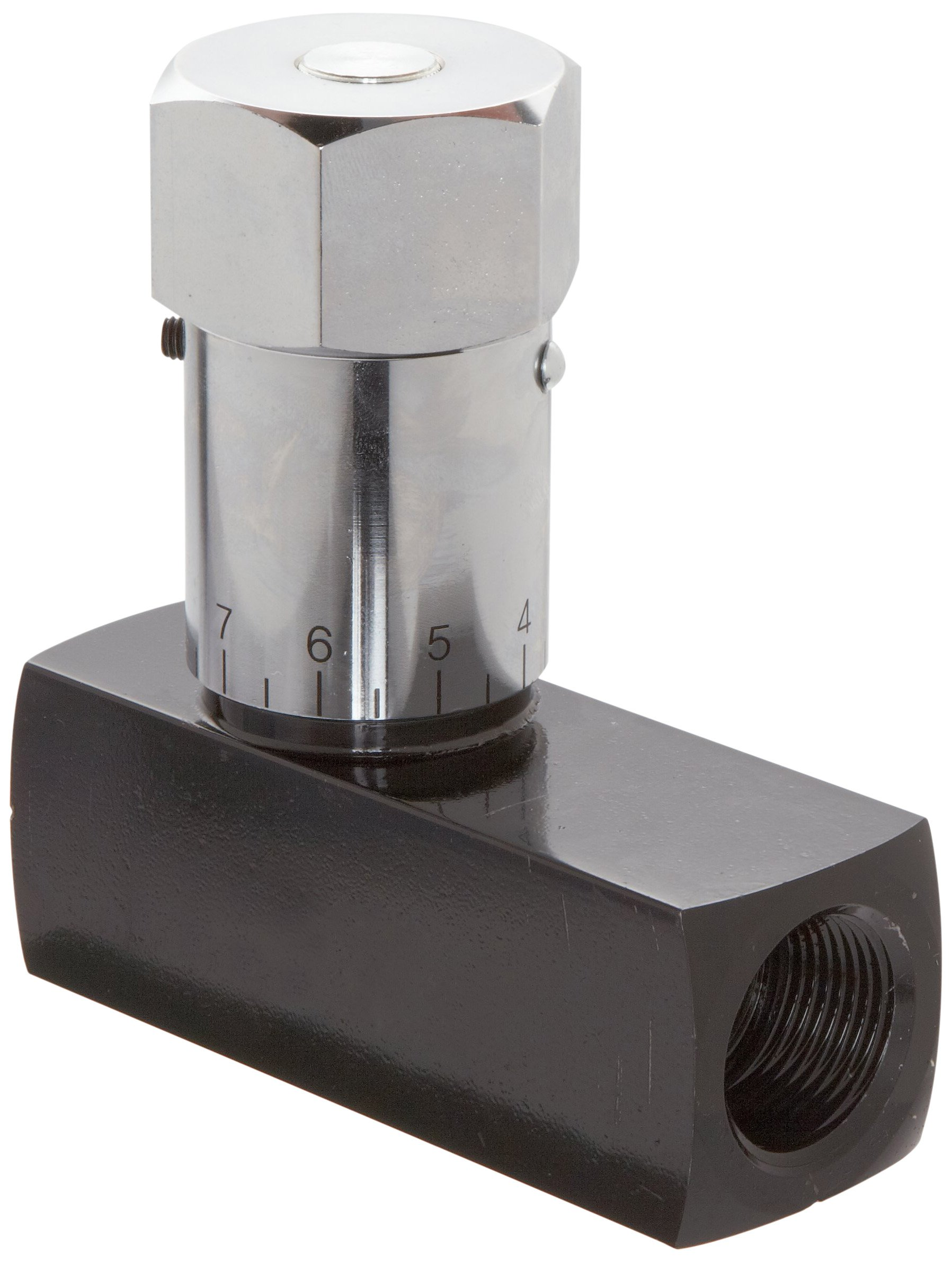 In-Line Prince WNV-800 Wolverine Needle Valve 16 gpm Max Flow 1//2 NPTF Carbon Steel