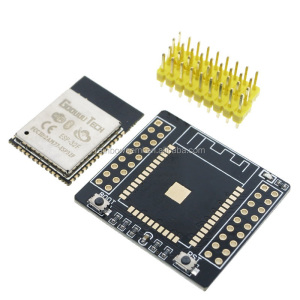 ESP-32F BT and WIFI Dual Core CPU IoT Wifi Wlan BLE Module+ESP32 Adapter Board