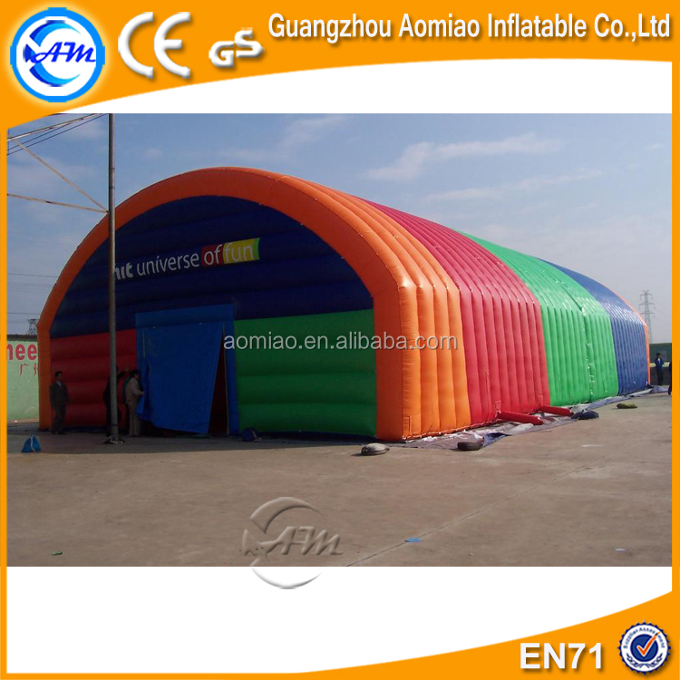 Customized inflatable tennis court tent, inflatable sport dome tennis dome